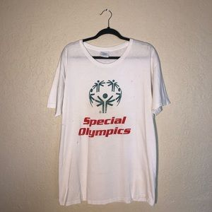 Vintage Distressed Special Olympics Graphic Tee